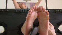 Ticklish Feet In Socks Barbara Nova