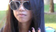 Nia Attractive Black Toenails