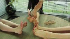 I Love Hania's Long Toes