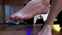 Attractive Enormous Feet