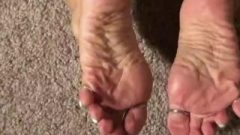 Pointed Toenails And Shapely Soles
