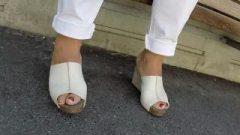 Best 31210 Hot Vixen Legs Nubile Toes Amateur Voyeur Candid Feet 208