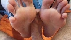 1st Footjob After The Quarantine – Natural Toes – 4k Part1 Trailer
