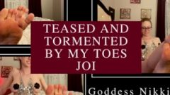 Harassed And Teased By My Toes Joi Femdom Goddess Nikki Kit Mp3