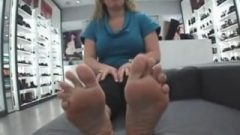 Tracy's Size 11 Huge Feet Soles