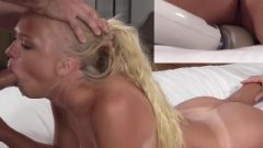 Tanlines Coed Chanel Summers Blowbanged After Cunt Licking