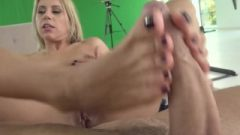 Footsiebabes Let My Feet Stroke Your Massive Tool