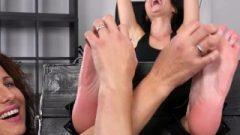 Czech Vixen Foot Caress Torture