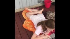 Sis Candid Soles Provoking Orange Feet