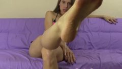 You Get To Lick And Clean My Nasty Stinky Feet And Ass-Hole