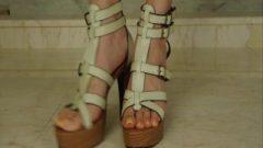 Fg99 Long Yummy Toenails In High Heels