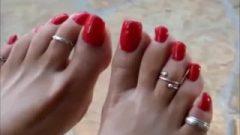 Steamy Feet And Long Toenails