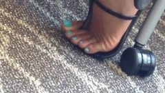 Candid Chocolate Feet And Toes