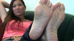Michelle Stinky Feet 2