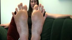 Sexiest Female In The World Stinky Scrunching Feet