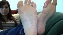 Veronica's Candid Feet