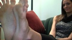 Tiffany's Candid Stinky Soles Scene 9