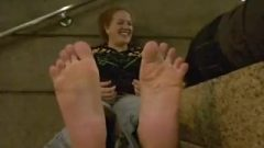 Stinky Soles Smelling